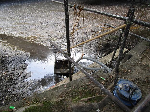 排水処理設備がまだある