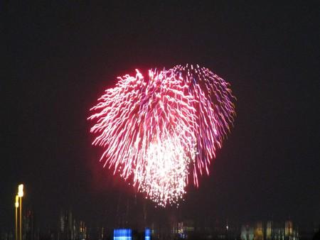 さいたま市の政令指定都市15周年花火大会 (1)