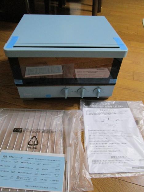 シロカ製のオリジナルオーブントースター