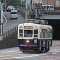 Photos: 桜橋をくぐってきた360形(377)
