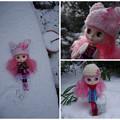 Photos: 雪を満喫