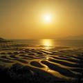 おこしき海岸 神秘の光景