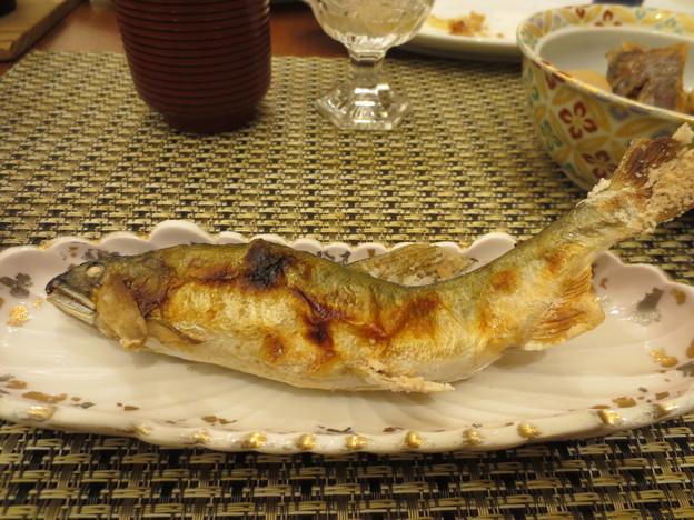 絶品 鮎の塩焼き