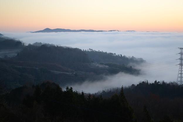 岡山WaRa倶楽無からの雲海の眺め