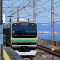 写真: 東海道線根府川駅