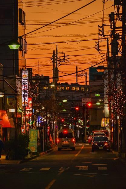 Photos: 下町の夕暮れ