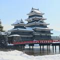 冬の松本城