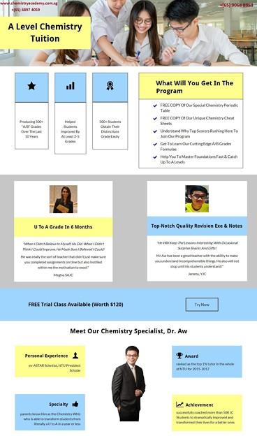 Photos: A Level Chemistry Tuition