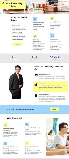 Photos: O Level Chemistry Tuition