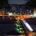 Photos: 江ノ島大橋 #湘南 #藤沢 #海 #波 #江ノ島 #enoshima #nightview #夜景
