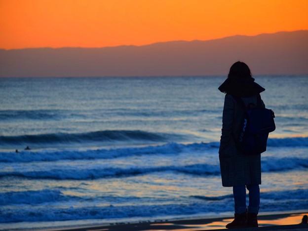 黄昏の湘南・鵠沼海岸 #湘南 #藤沢 #海 #surfing #wave #mysky
