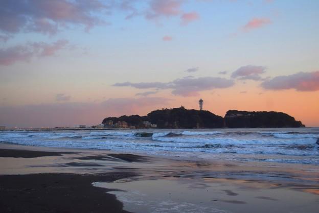 日没後の江ノ島 #湘南 #藤沢 #海 #surfing #wave #mysky