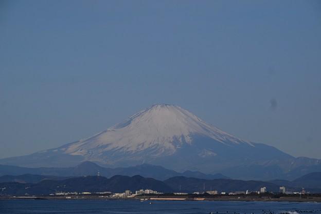 湘南・鵠沼海岸からの富士山 #湘南 #藤沢 #海 #波 #surfing #wave #mysky #fujisan #mtfuji #富士山
