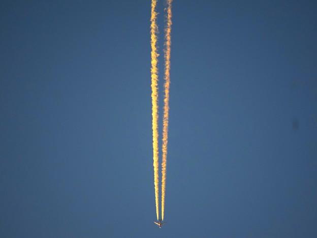 飛行機雲 #湘南 #藤沢 #海 #波 #wave #surfing #mysky #飛行機雲