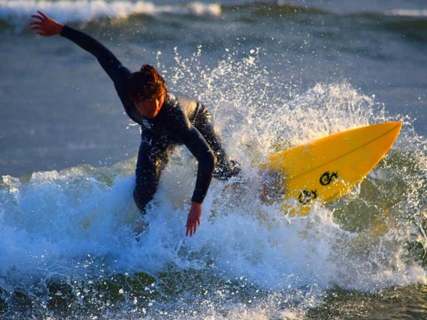 そこそこ遊べた波の湘南・鵠沼海岸 #湘南 #藤沢 #海 #波 #wave #surfing #mysky #beach