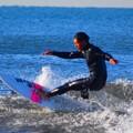 弱いオンショアの湘南・鵠沼海岸 #湘南 #藤沢 #海 #波 #wave #surfing #mysky