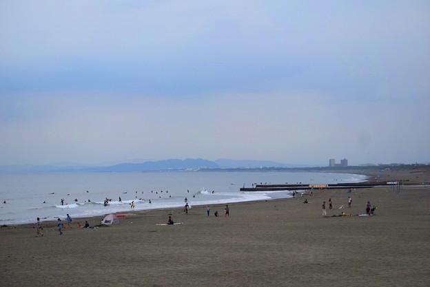 夕暮れの湘南・鵠沼海岸 #湘南 #藤沢 #海 #波 #wave #surfing #mysky #beach