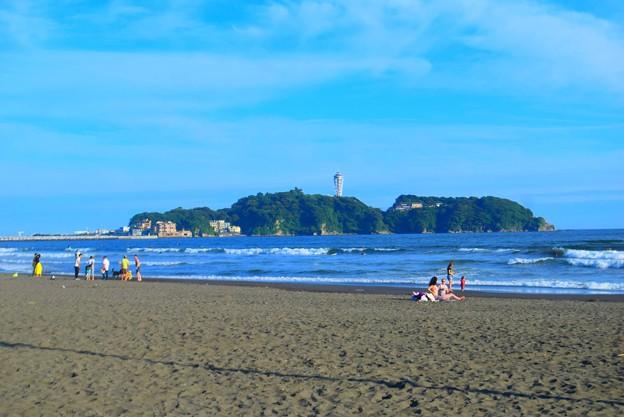 夕方の江ノ島 #湘南 #藤沢 #海 #波 #wave #surfing #mysky