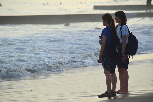 夕方の湘南・鵠沼海岸 #湘南 #藤沢 #海 #波 #wave #surfing #mysky #beach