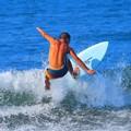 弱いオンショアの湘南・鵠沼海岸 #湘南 #藤沢 #海 #波 #wave #surfing #mysky #beach