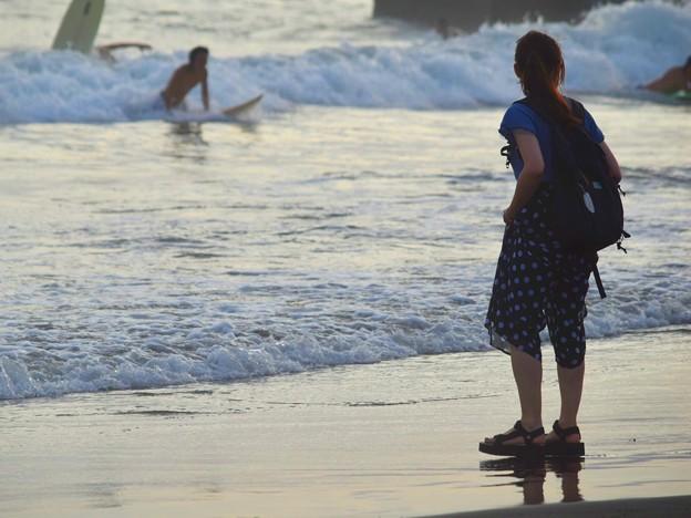 湘南・鵠沼海岸夕景 #湘南 #藤沢 #海 #波 #wave #surfing #mysky #beach #shonan