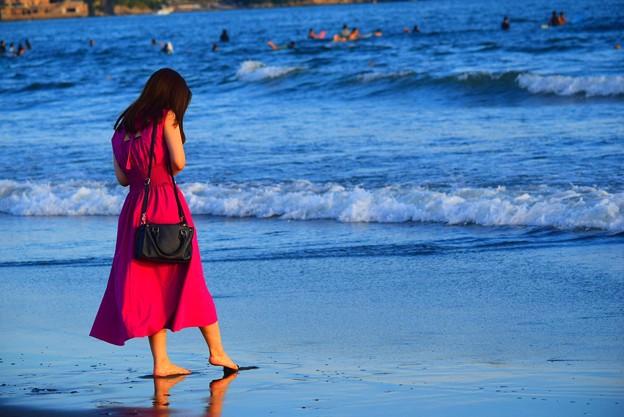 夕方の湘南・鵠沼海岸 #湘南 #藤沢 #海 #波 #wave #surfing #mysky