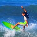 セットオーバーヘッドの湘南・鵠沼海岸 #湘南 #藤沢 #海 #波 #wave #surfing #mysky #beach