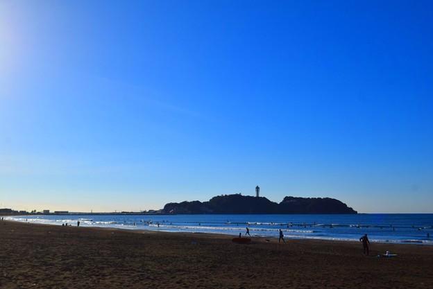 写真: 今朝の江ノ島 #湘南 #藤沢 #海 #波 #wave #surfing #mysky
