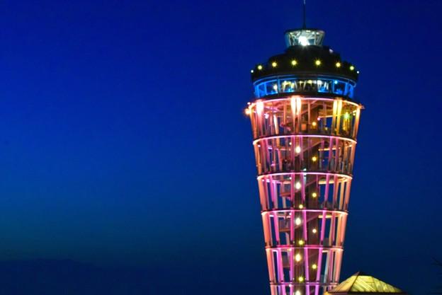 江ノ島展望灯台シーキャンドル #湘南 #藤沢 #海 #波 #wave #江ノ島 #mysky #enoshima #夜景 #nightview