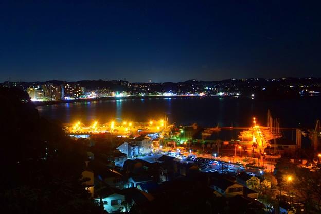 湘南港と鎌倉の夜景  #湘南 #藤沢 #海 #波 #wave #江ノ島 #mysky #enoshima #夜景 #nightview