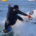 弱いオフショアの湘南・鵠沼海岸 #湘南 #藤沢 #海 #波 #wave #surfing #mysky #beach