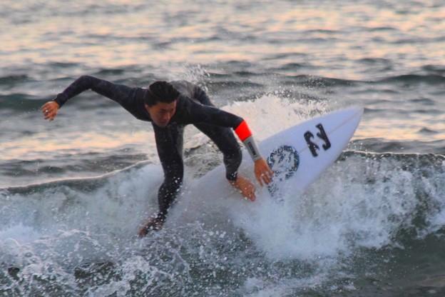 そこそこ遊べた波の湘南・鵠沼海岸 #湘南 #海 #波 #beach #surfinng #サーフィン #wave #mysky