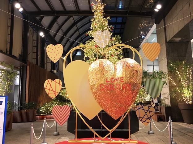 新宿高島屋のハートのオブジェ #新宿 #東京 #クリスマス #イルミネーション #shinjuku #christmas #illumination
