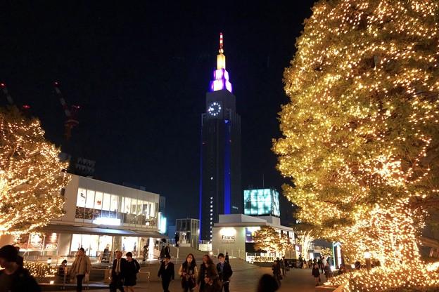 ドコモタワーとイルミネーション #新宿 #東京 #クリスマス #イルミネーション #shinjuku #christmas #illumination