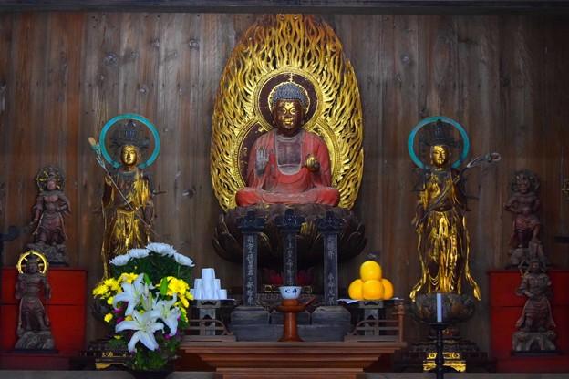 海蔵寺薬師如来像・日光菩薩・月光菩薩像 #湘南 #kamakura #鎌倉 #temple #寺 #mysky