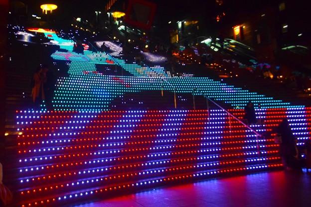 京都駅の階段イルミネーション #京都 #クリスマス #イルミネーション #kyoto #illumination #christmas #xmas