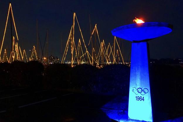 東京オリンピックモニュメント #江ノ島 #湘南 #イルミネーション #クリスマス #illumination #christmas #merrychristmas