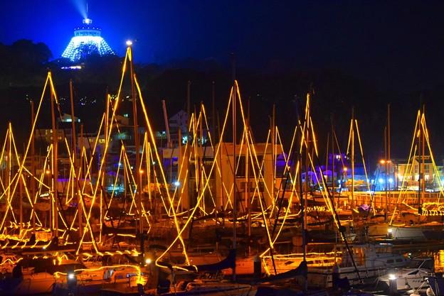 湘南港恒例のイルミネーション #江ノ島 #湘南 #イルミネーション #クリスマス #illumination #christmas #merrychristmas