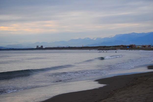 曇り空の湘南・鵠沼海岸 #湘南 #藤沢 #海 #波 #wave #surfing #mysky #beach