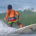 Photos: 今朝の湘南・鵠沼海岸の波はももから腰サイズ #湘南 #藤沢 #海 #波 #wave #surfing #sea #beach #mysky #サーフィン