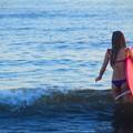 夕暮れのサーファー@湘南・鵠沼海岸 #湘南 #藤沢 #海 #波 #wave #surfing #サーフィン #mysky #sea #beach