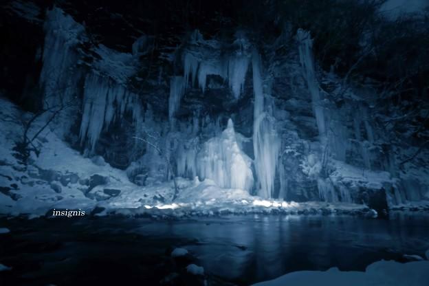 写真: 氷面鏡(ひもかがみ).......