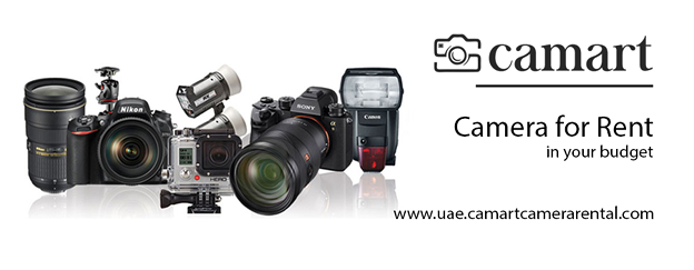 Camera Equipment Rental Dubai