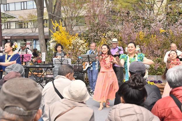 福島駅前のイベント