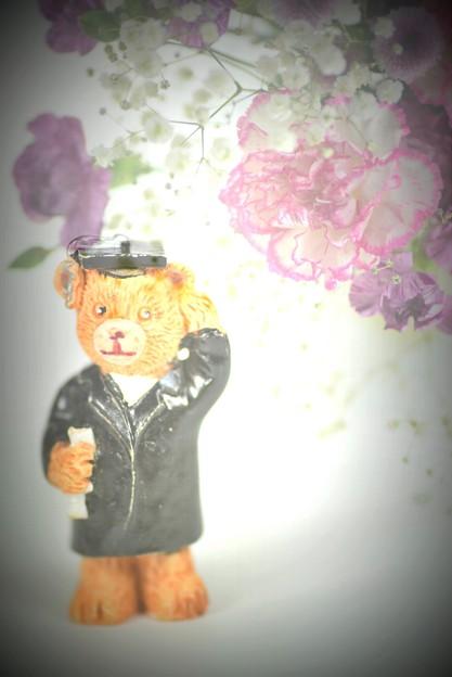 熊(ひたちなかのお土産)