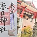 Photos: 春日神社の御朱印