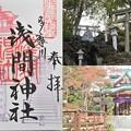 多摩川浅間神社の御朱印(12月)