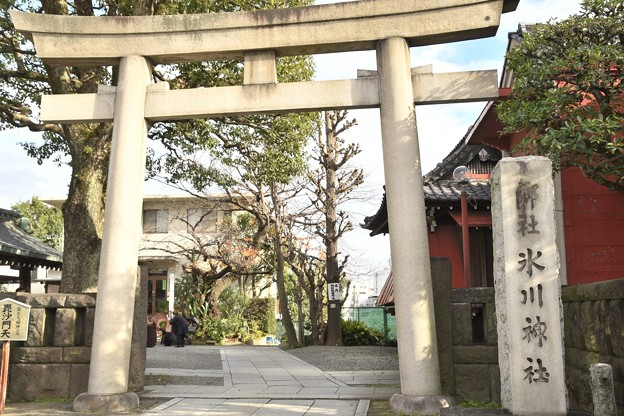 麻布氷川神社(12月)