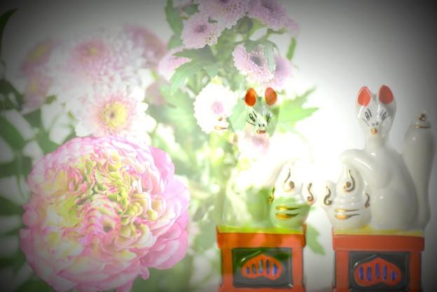お狐様(お土産)