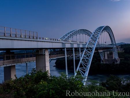 第二西海橋の朝